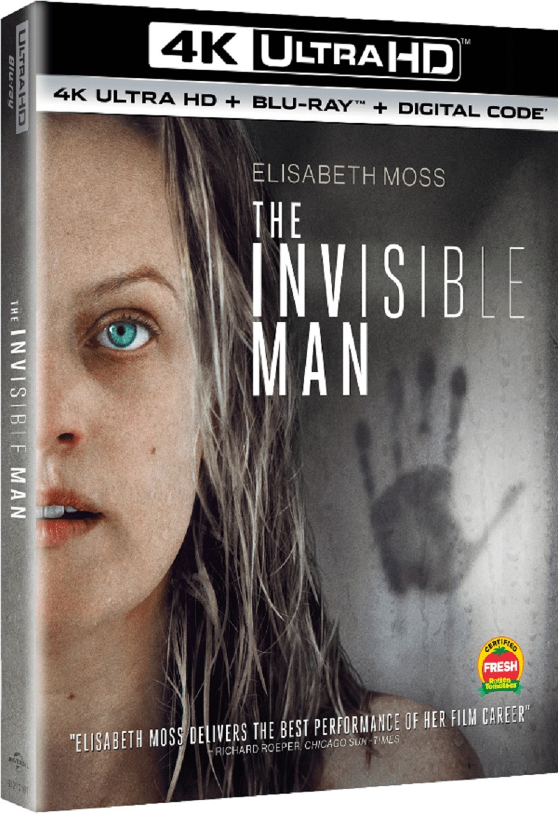 The Invisible Man Blu-ray DVD Digital Release