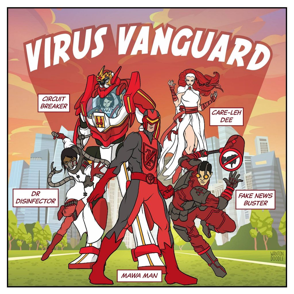 Singapore Superheroes Virus Vanguard