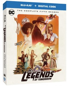 Legends of Tomorrow Season 5 Blu-ray DVD