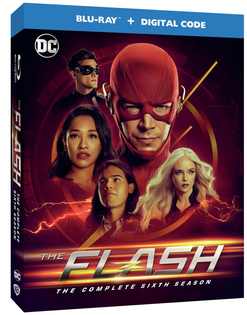 The Flash Season 6 Blu-ray DVD