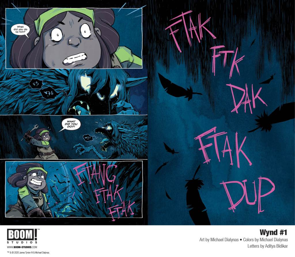 Wynd Issue 1 preview