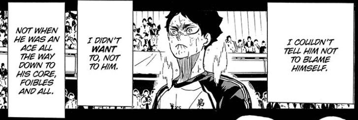 Haikyuu chapter 392 Akaashi