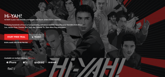"""Streaming Service """"Hi-YAH!"""" Goes Mobile With The Best Martial Arts and Asian Action Movies!"""