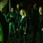 The 100 Season 7 trailer group