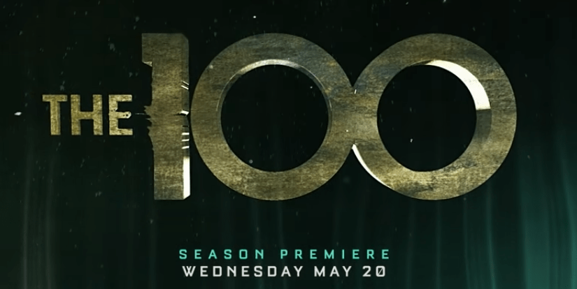 The 100 Season 7 trailer logo