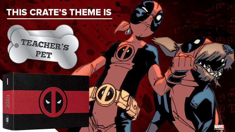 Deadpool September 2020 Loot Crate