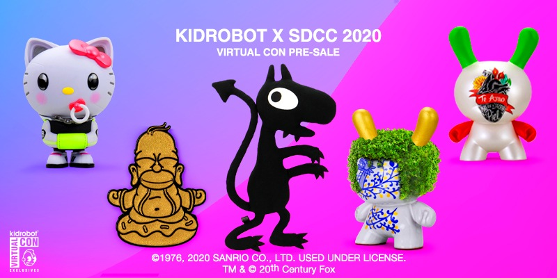 Kidrobot SDCC Virtual Con 2020