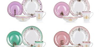 """Disney Princesses Dinnerware Set"" Collection Two Has Arrived at Toynk And Target!"