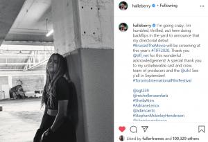 TIFF 2020 Bruised Halle Berry