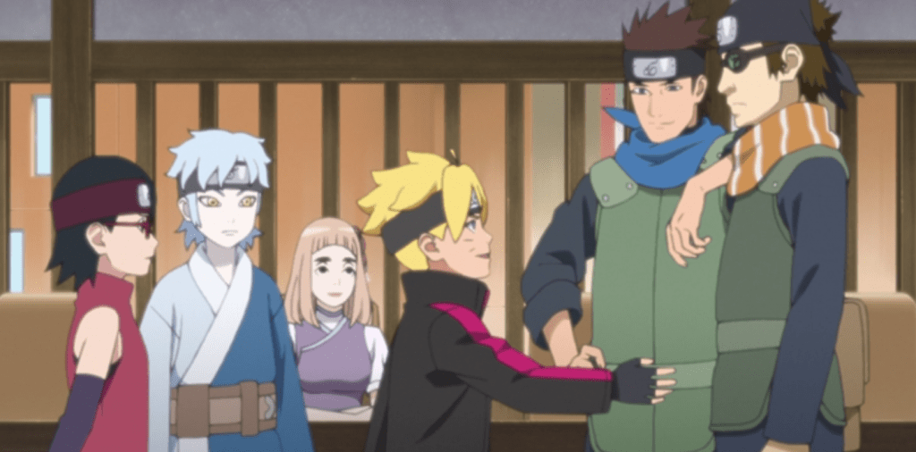the man who disappeared boruto 158 anime review