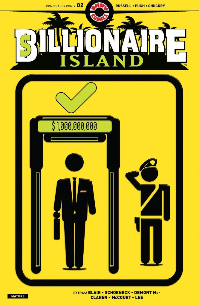 Billionaire Island Issue 2 review