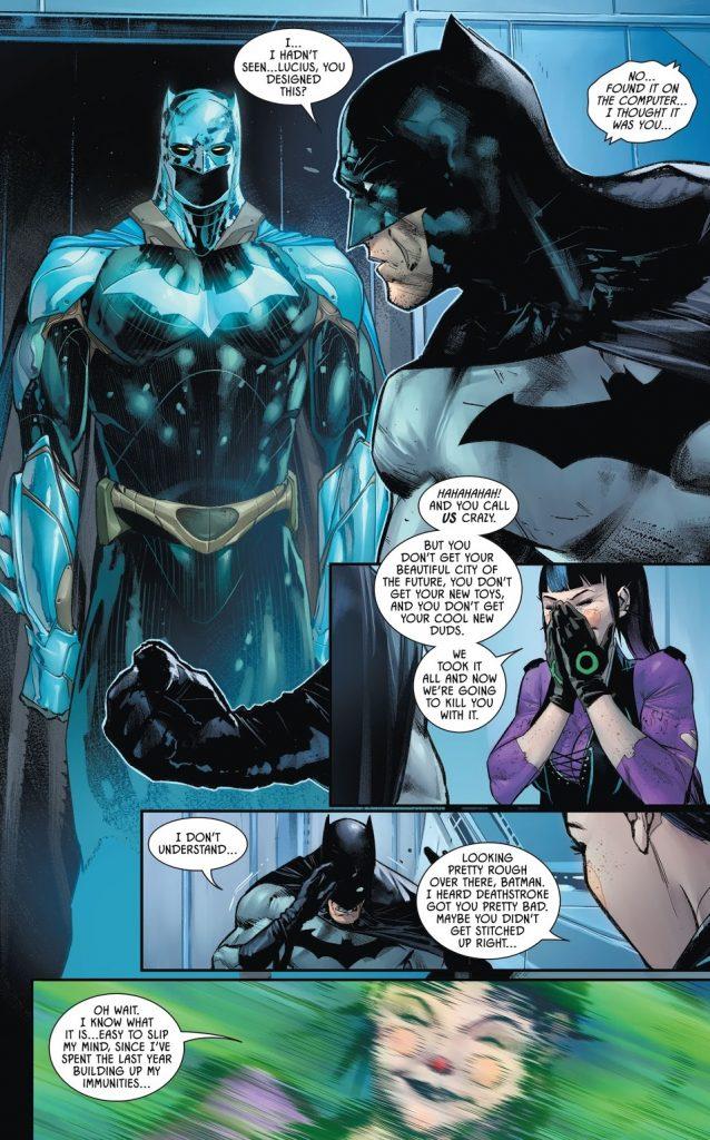 Batman Issue 95 new suit
