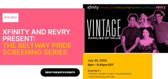 "Comcast Xfinity Continues Pride with ""The Beltway Pride Screening Series"" on Revry"
