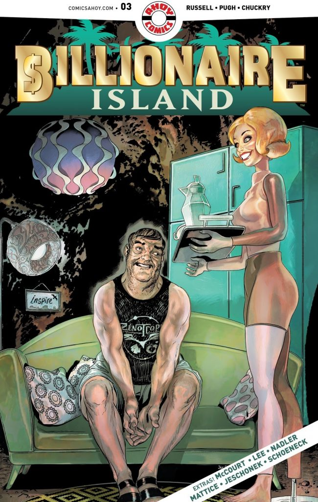 Billionaire Island Issue 3 review