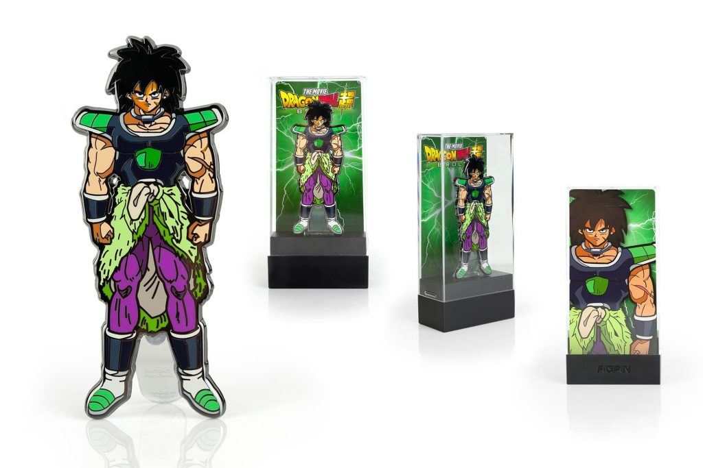 Broly Dragon Ball Super FigPin