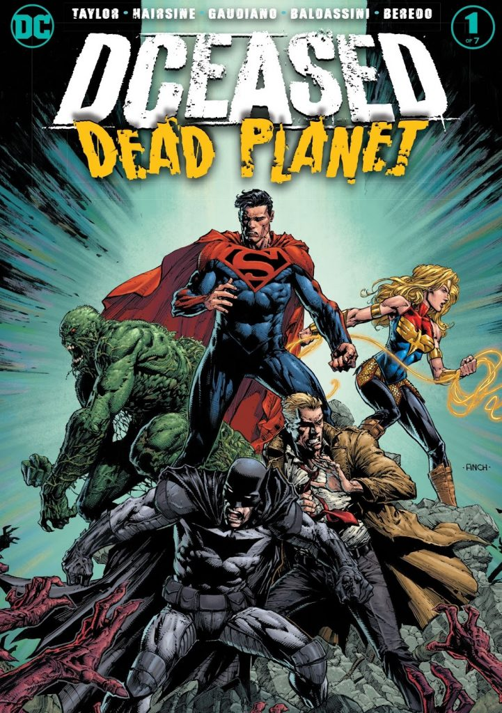 DCeased Dead Planet issue 1 review