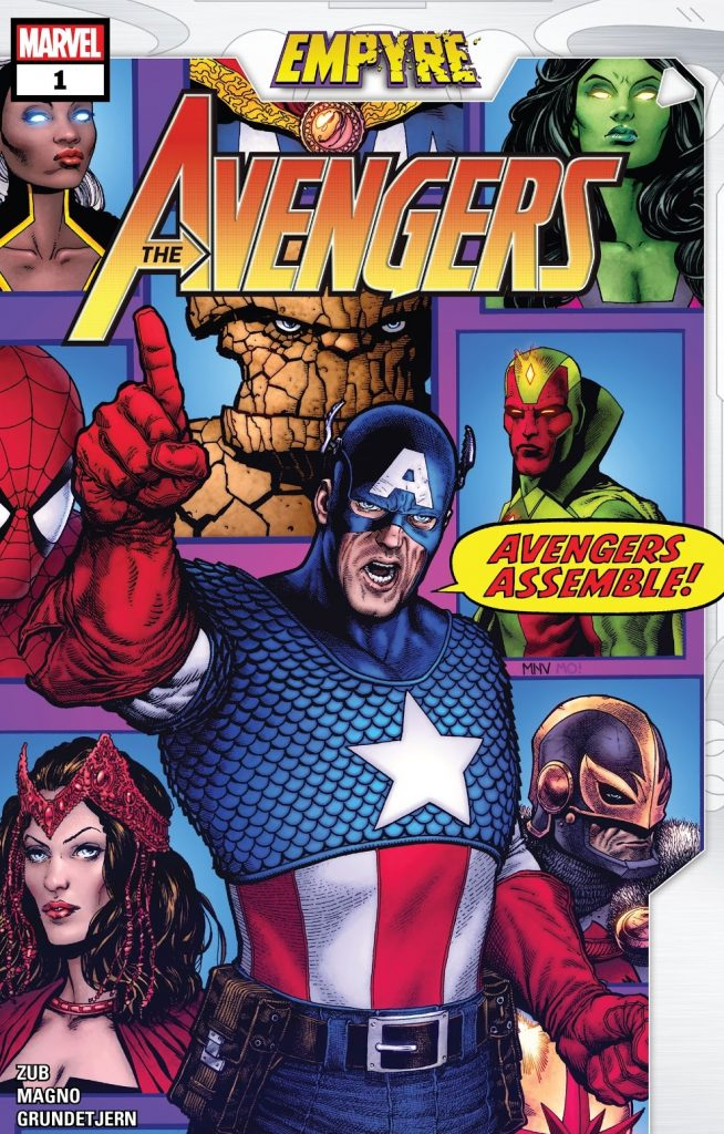 Empyre Avengers issue 1