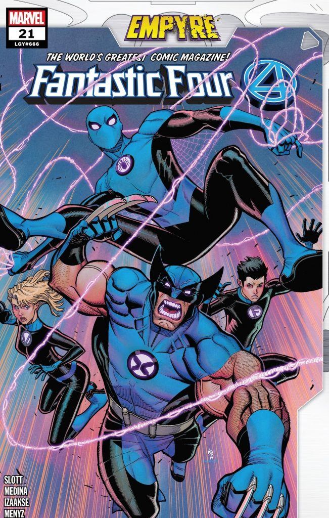 Fantastic Four Issue 21 review