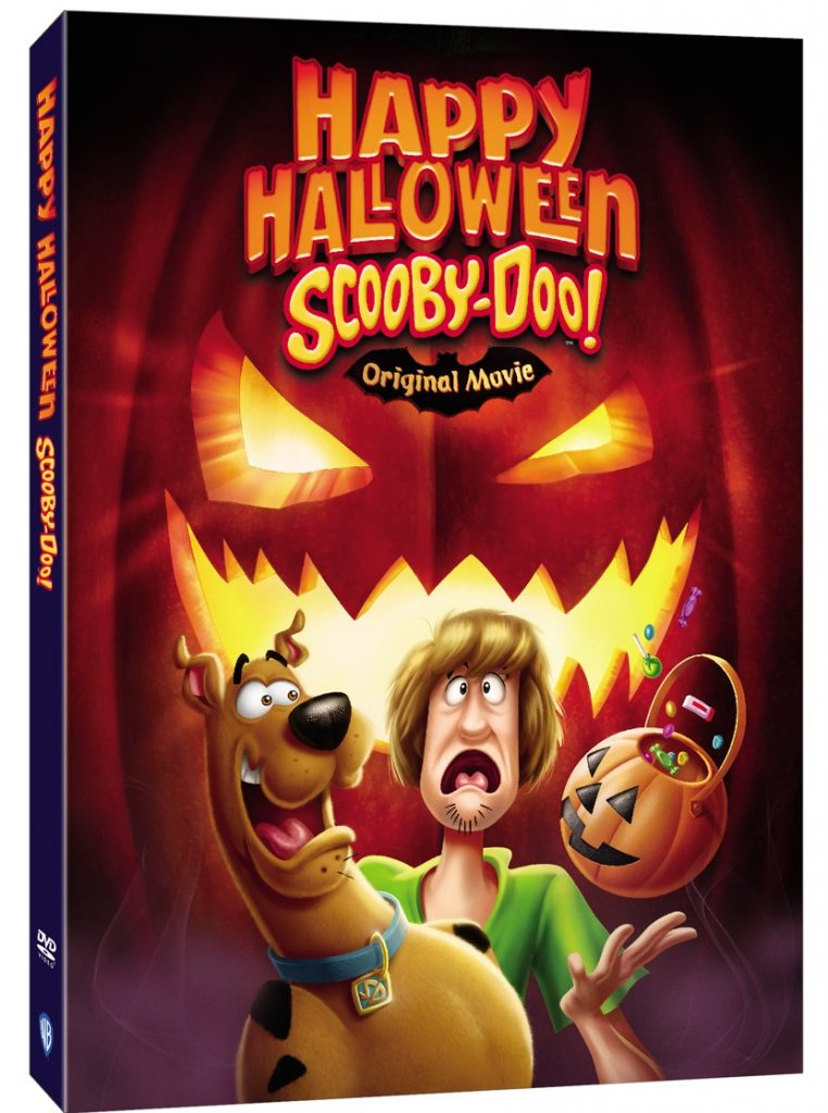 Happy Halloween Scooby Doo DVD October 2020