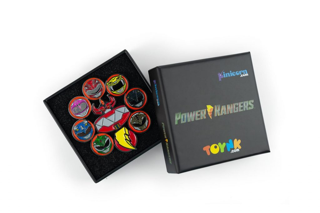 Power Rangers Pin