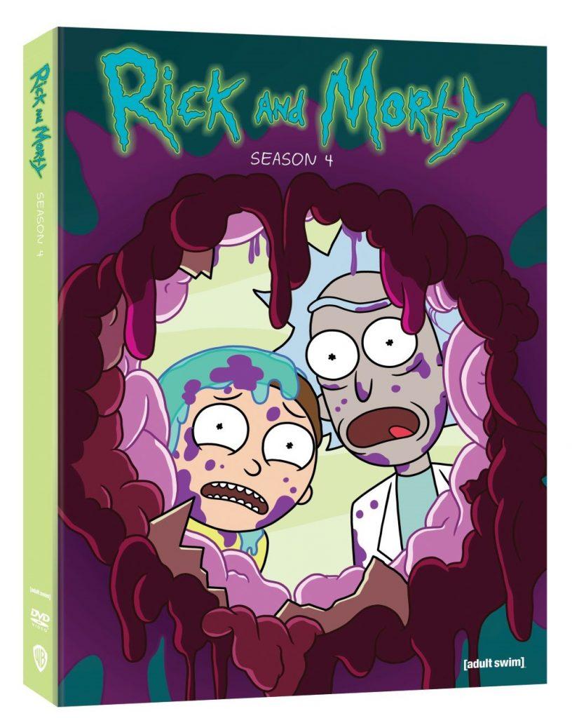 Rick and Morty Season 4 Blu-ray DVD release