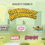 Saturday Mornings Loot Crate August 2020