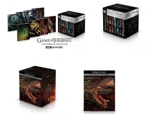 game of thrones complete collection 4K UHD