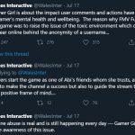 Gamer Girl Tweet