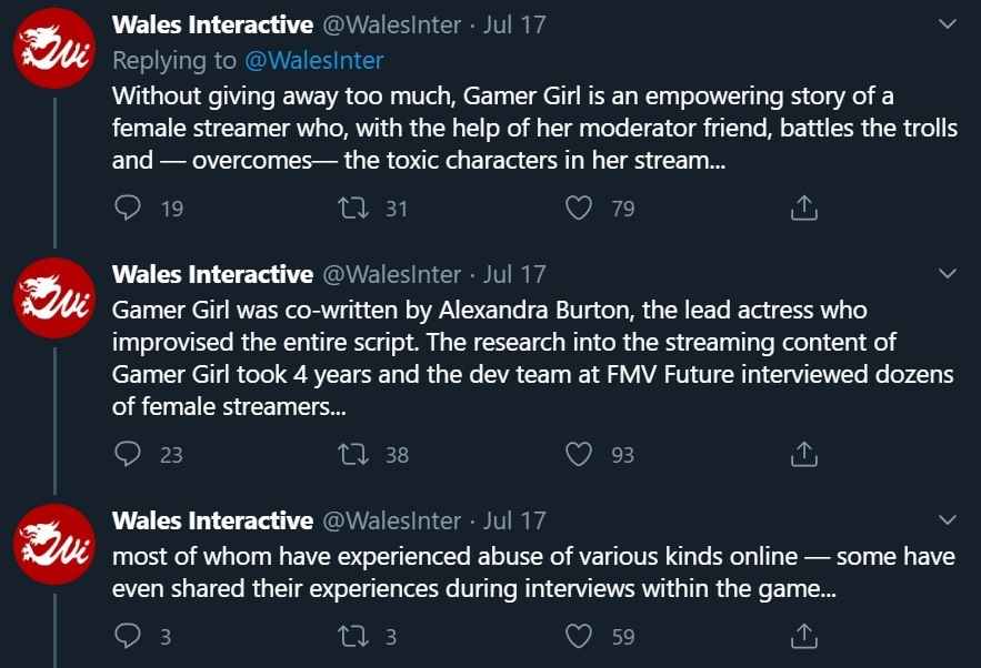 Gamer Girl Wales Interactive