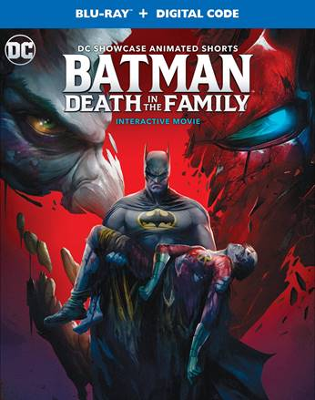 DC Showcase Batman Death in the Family Blu-ray 2020