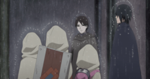 Karas Footprints Boruto anime 157 review