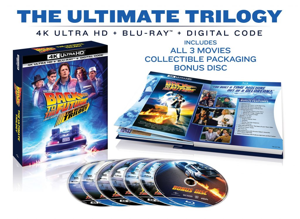 back to the future ultimate trilogy release