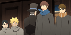 to the land of silence boruto anime 160 reviwe