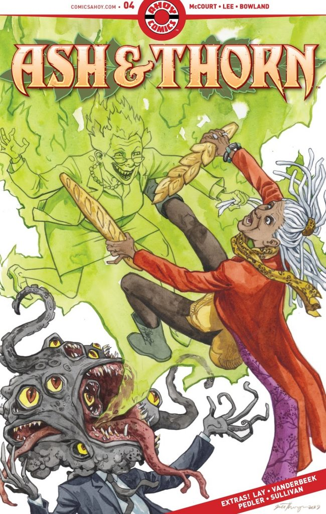 Ash and Thron Issue 4 review