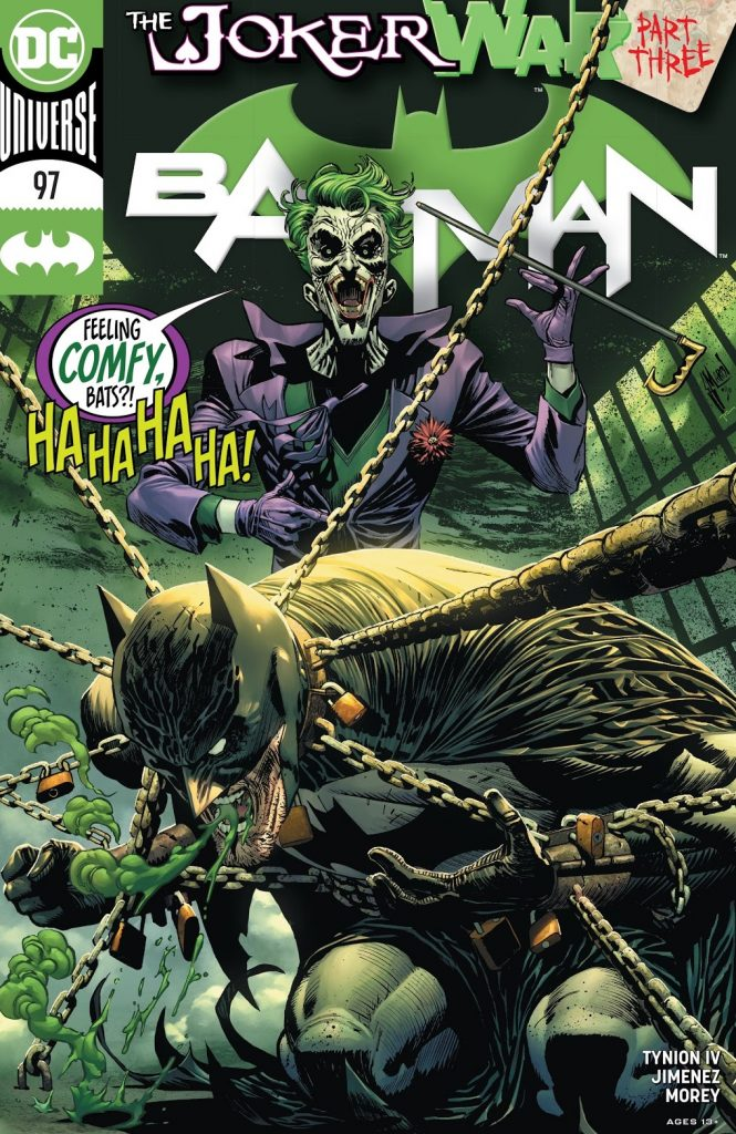 batman issue 97 review