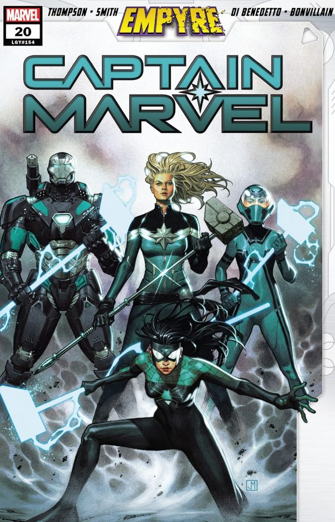 Captain Marvel Issue 20 review