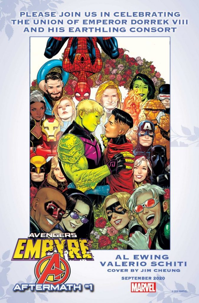 Empyre Aftermath Avengers Issue 1