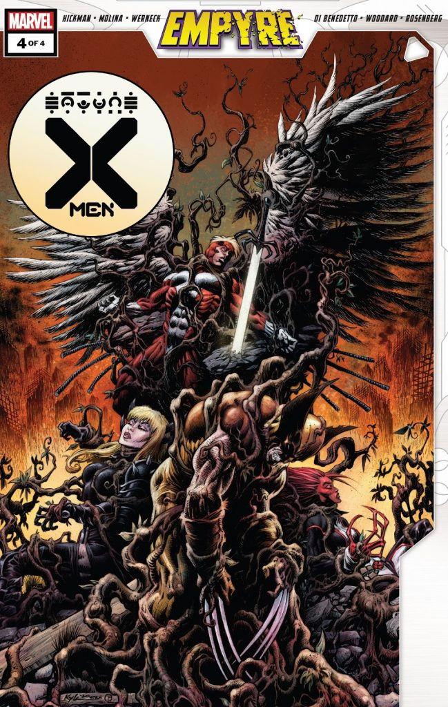 Empyre X-Men Issue 4 review