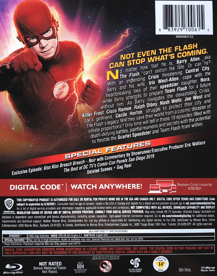 Blu-Ray Cover Backside