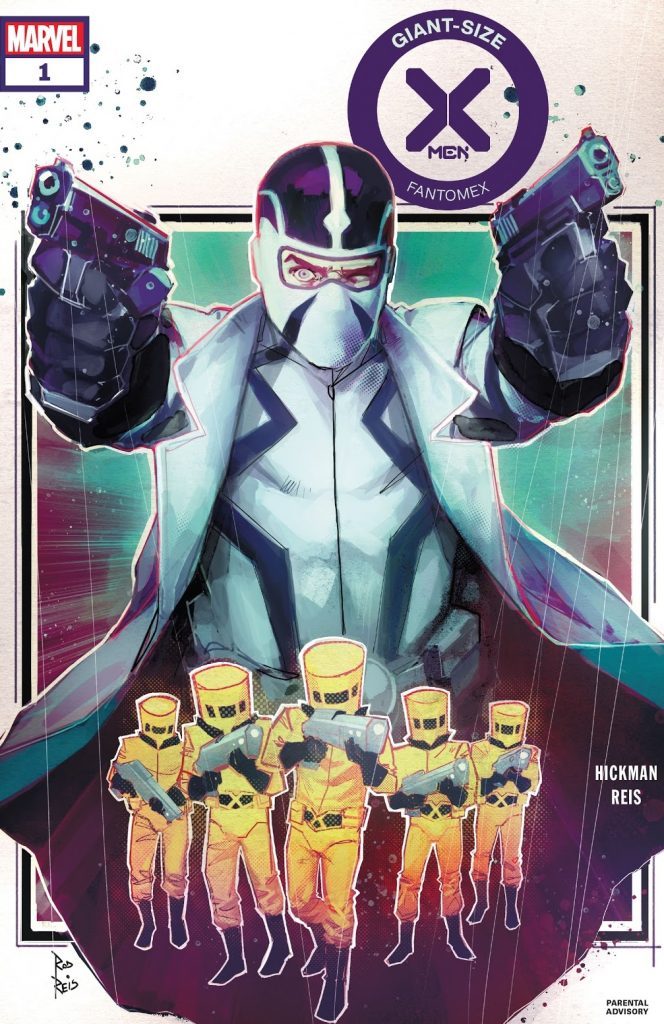 Giant Size X-Men Fantomex Issue 1 review