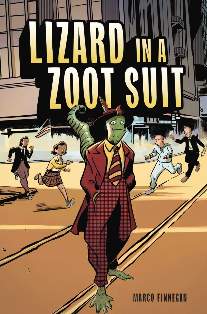 Lizard in a Zoot Suit review