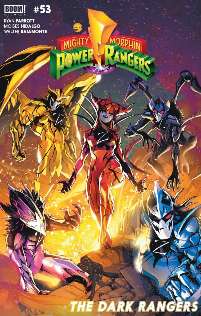 mighty morphin power rangers issue 53 review