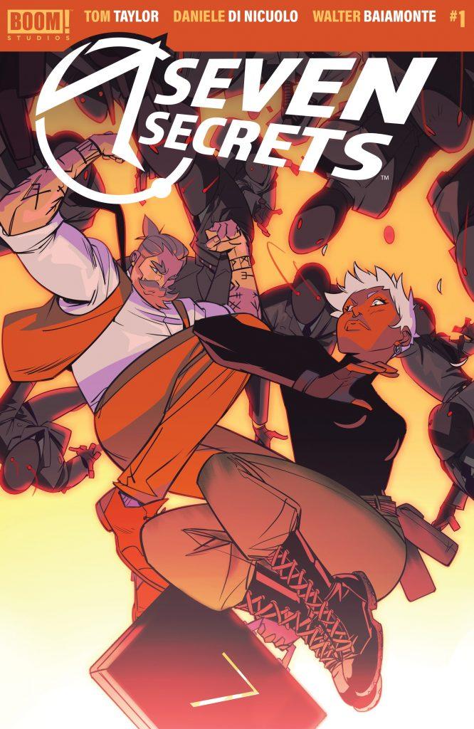 Seven Secrets Issue 1 review