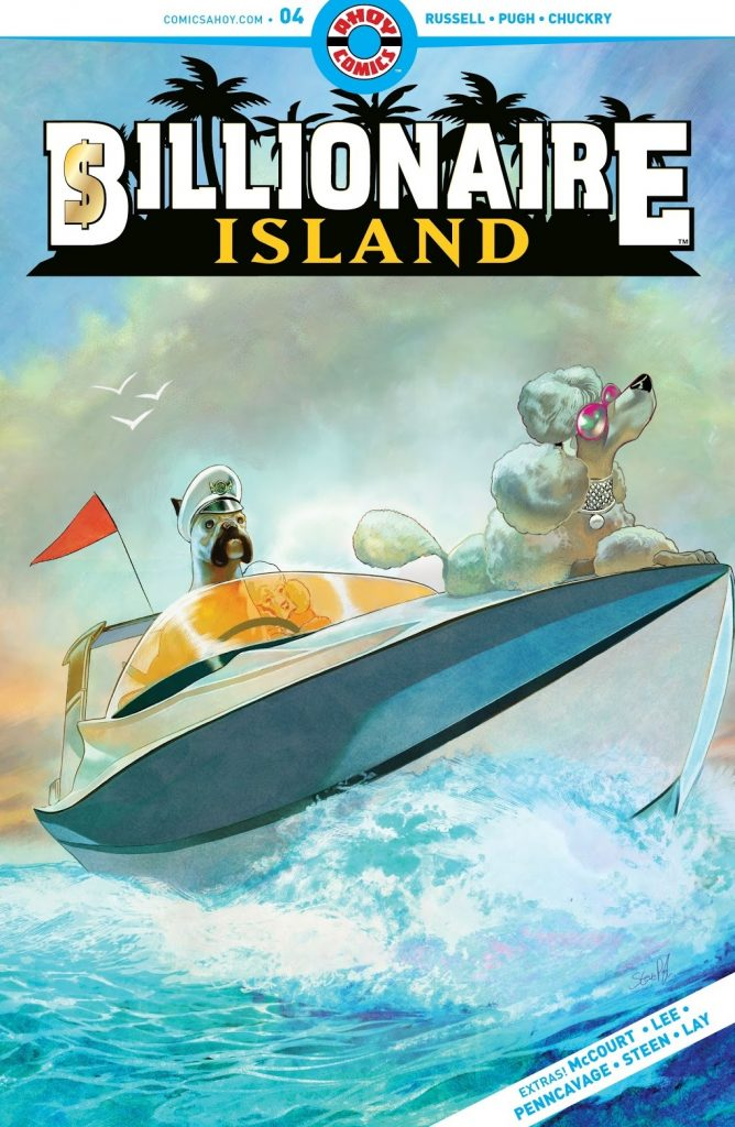 billionaire Island Issue 4 review