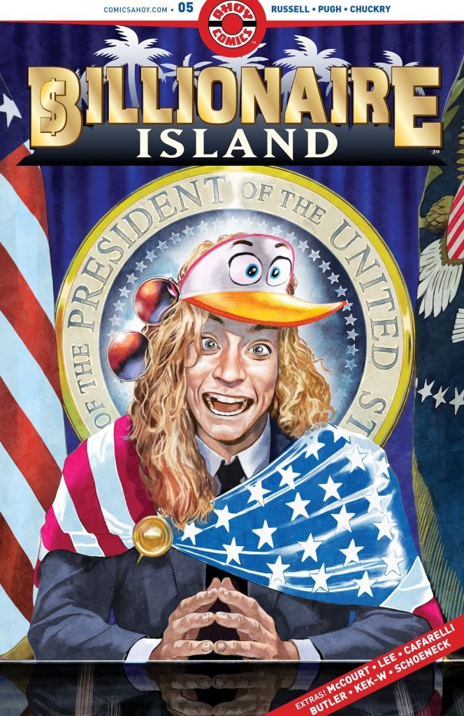 billionaire island issue 5 review