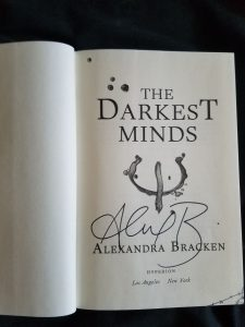 Win a signed first edition hardback of The Darkest Minds by Alexandra Bracken!