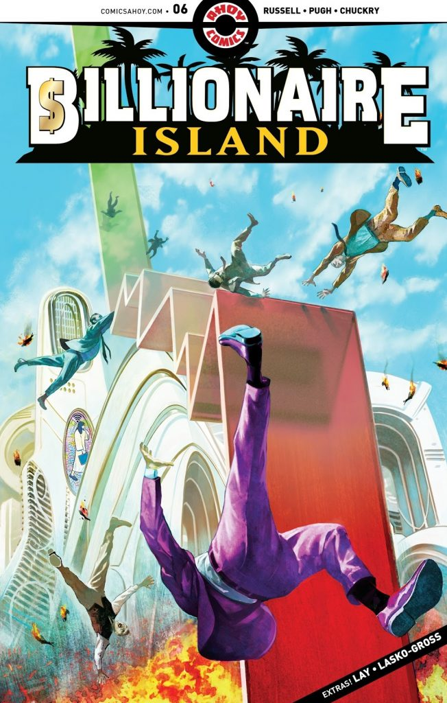 billionaire Island issue 6 review