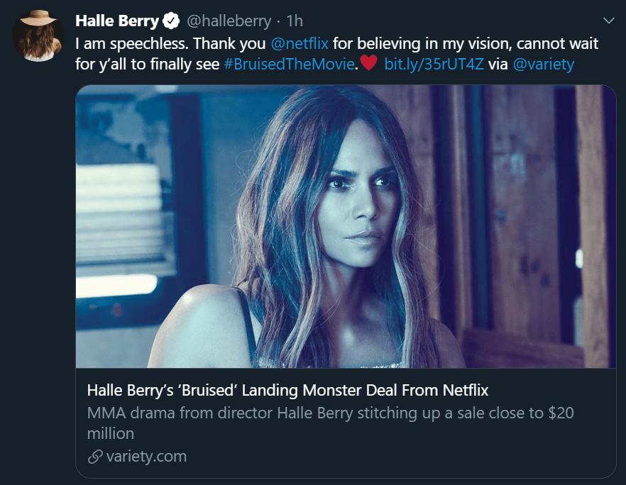 Halle Berry's 'Bruised' Landing Netflix Deal