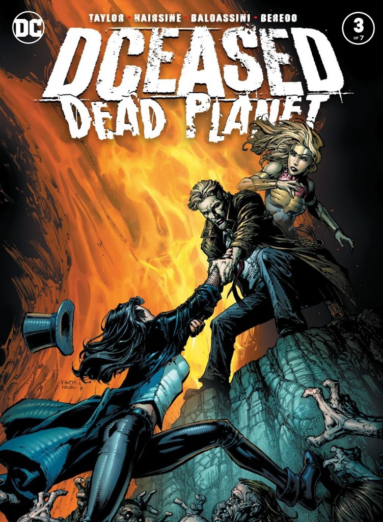 DCeased Dead Planet Issue 3 review