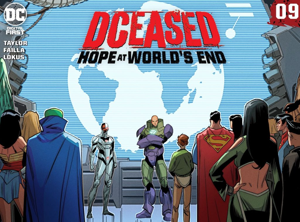 DCeased Hope at Worlds end Issue 9 reviwe